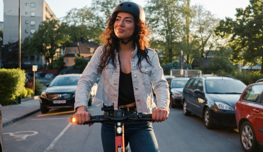 Preliminary research results show that riding e-scooters is good for wellbeing